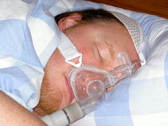 CPAP user by Michael Symonds